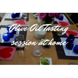 Olive Oil Tasting Session At Home