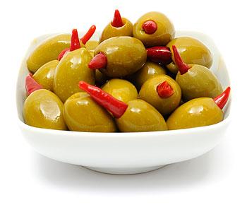 Piri-piri-Queen-olive